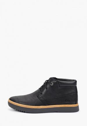 Ботинки Caterpillar ZINE. Цвет: черный