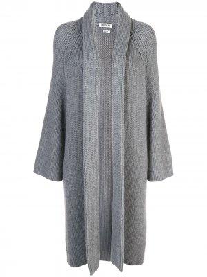 Кардиган-пальто без застежки Jason Wu. Цвет: серый