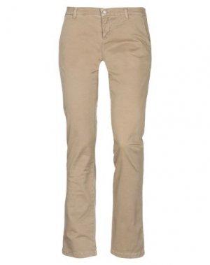 Повседневные брюки ALPHA STUDIO. Цвет: хаки