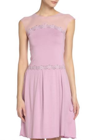 Платье Bona Dea. Цвет: сиреневый