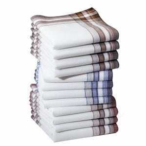Комплект из 12 носовых платков, 100% хлопок LA REDOUTE INTERIEURS. Цвет: разноцветный