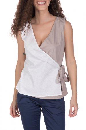 Блуза GIORGIO DI MARE. Цвет: бежевый