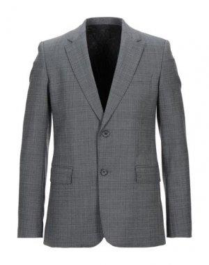 Пиджак AMI ALEXANDRE MATTIUSSI. Цвет: серый
