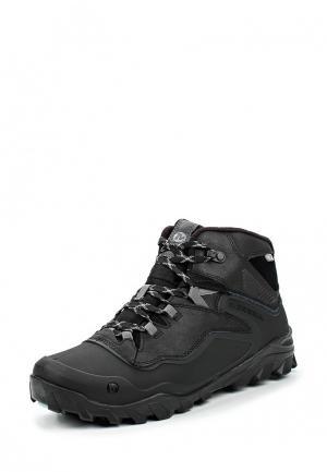 Ботинки трекинговые Merrell OVERLOOK 6 ICE WATERPROOF. Цвет: черный