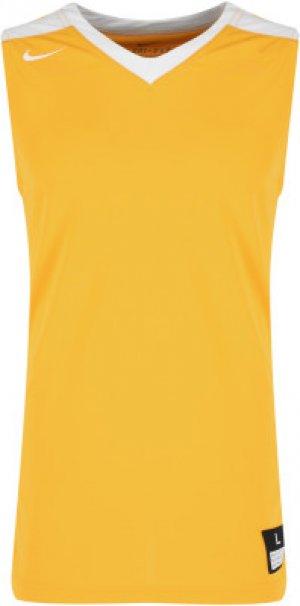 Майка мужская Elite Franchise, размер 44-46 Nike. Цвет: желтый