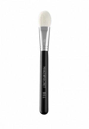 Кисть для лица Make-Up Secret B51. Цвет: черный