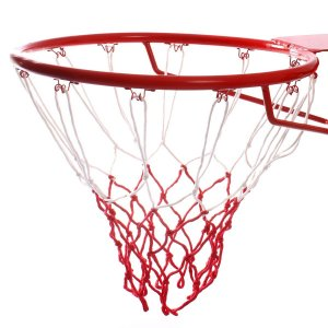 Сетка баскетбольная, двухцветная, нить 3,2 мм, (2 шт) ONLITOP