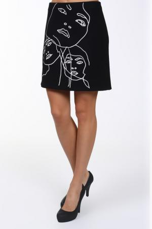 Юбка Stella McCartney. Цвет: черный