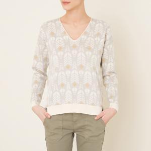 Пуловер SQUAW BLUNE. Цвет: серый