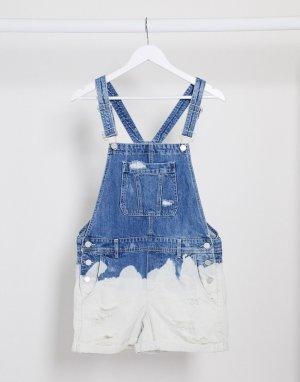 Синий джинсовый комбинезон с эффектом омбре Blank NYC