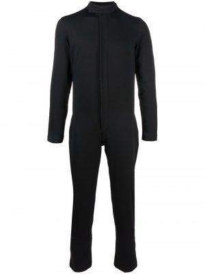 Комбинезон 1990-х годов кроя слим Jean Paul Gaultier Pre-Owned. Цвет: черный