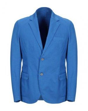 Пиджак AG TREND. Цвет: лазурный