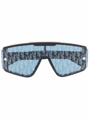 Солнцезащитные очки Diorxtrem со сменными линзами Dior Eyewear. Цвет: черный