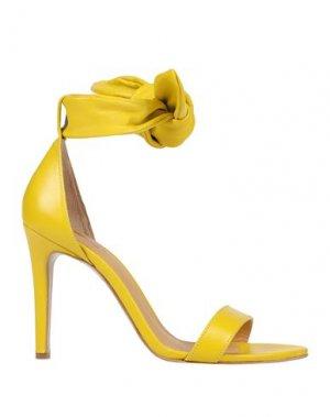 Сандалии ANIYE BY. Цвет: желтый