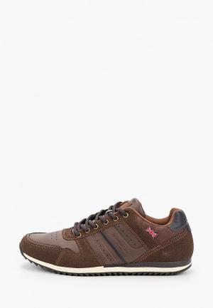 Кроссовки Dunlop. Цвет: коричневый