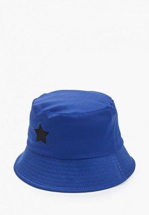 Панама Hatparad BLACK STAR. Цвет: синий
