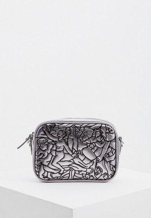Сумка Vivienne Westwood Anglomania. Цвет: серебряный