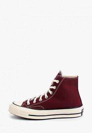 Кеды Converse Chuck 70. Цвет: бордовый