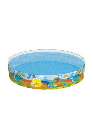 Ненадувной бассейн BestWay. Цвет: разноцветный