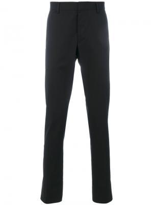 Классические брюки-чинос Lanvin. Цвет: чёрный