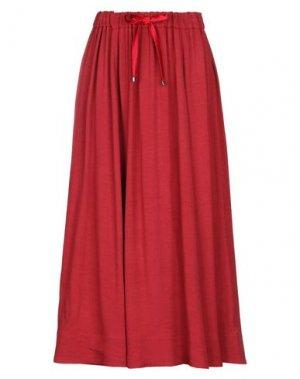 Длинная юбка VIA MASINI 80. Цвет: красный