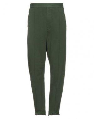 Повседневные брюки HAIDER ACKERMANN. Цвет: зеленый