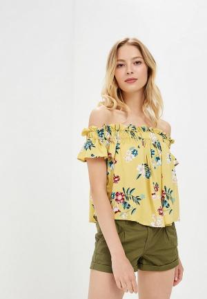 Блуза Befree BE031EWBDOW1. Цвет: желтый