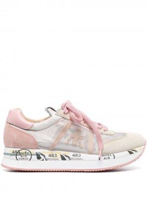 Кроссовки Conny Premiata. Цвет: розовый