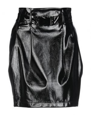 Юбка до колена ANNARITA N TWENTY 4H. Цвет: черный