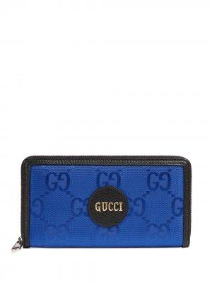 Кошелек Off Grid Gucci. Цвет: синий