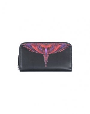 Бумажник MARCELO BURLON. Цвет: черный