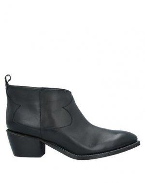 Полусапоги и высокие ботинки ÂME. Цвет: черный