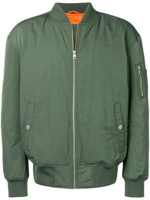 Куртка-бомбер Icon Calvin Klein Jeans Est. 1978. Цвет: зеленый