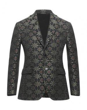 Пиджак GABRIELE PASINI. Цвет: черный