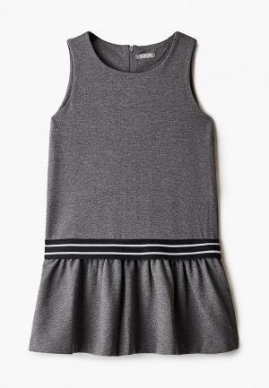 Платье Gulliver. Цвет: серый