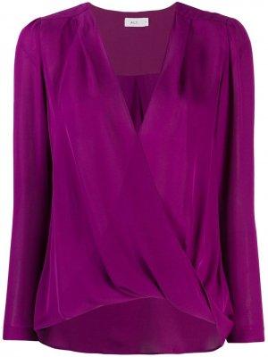 Блузка Harmon с V-образным вырезом A.L.C.. Цвет: фиолетовый