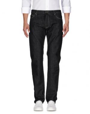 Джинсовые брюки MARINA YACHTING. Цвет: черный