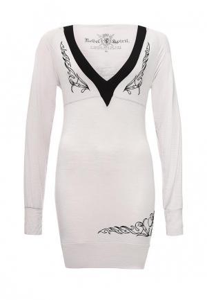 Платье Rebel Spirit. Цвет: серый