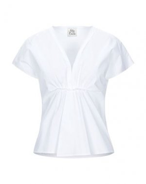 Блузка ATTIC AND BARN. Цвет: белый