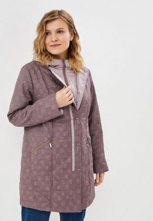 Куртка утепленная Wiko. Цвет: фиолетовый
