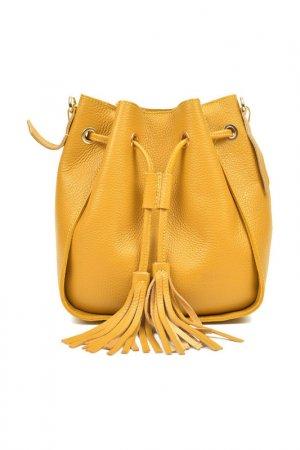 Bag CARLA FERRERI. Цвет: yellow