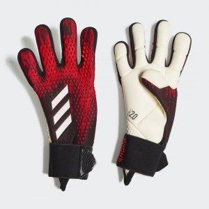 Вратарские перчатки Predator 20 Pro Performance adidas. Цвет: красный