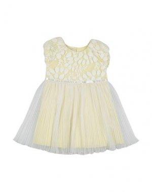 Платье ELSY. Цвет: желтый