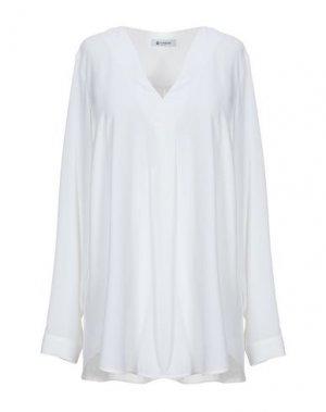 Блузка DONDUP. Цвет: белый