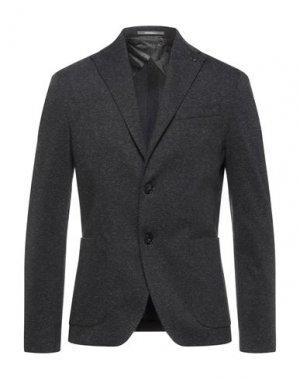 Пиджак HAVANA & CO.. Цвет: стальной серый
