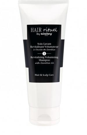Тонизирующий шампунь для увеличения объема волос с маслом камелии Hair Rituel by Sisley. Цвет: бесцветный