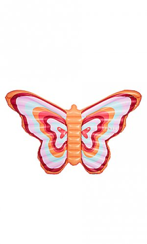 Надувной матрас butterfly FUNBOY. Цвет: розовый