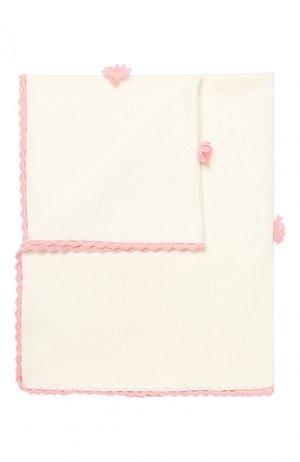 Хлопковое одеяло Baby T. Цвет: розовый