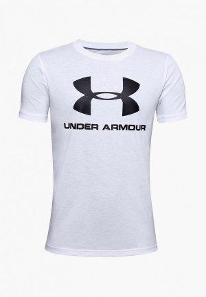 Футболка спортивная Under Armour UA Sportstyle Logo SS. Цвет: черный