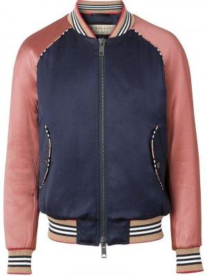 Куртка-бомбер с полосками Icon Stripe Burberry